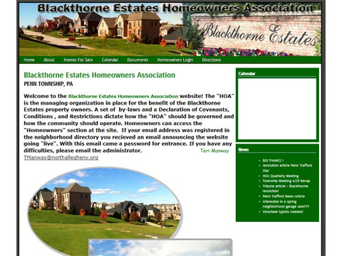 Blackthorne Home Owners Association