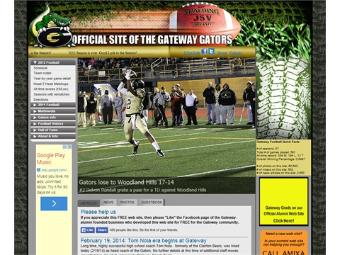 Gateway Gators Football