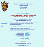 American Guild of Organists Tampa Chapter
