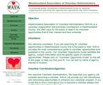 Westmoreland Association of Volunteer Administrators (WAVA)